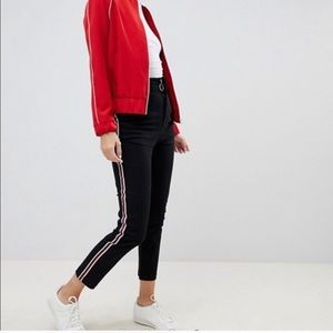 ASOS Striped Cigarette Pant